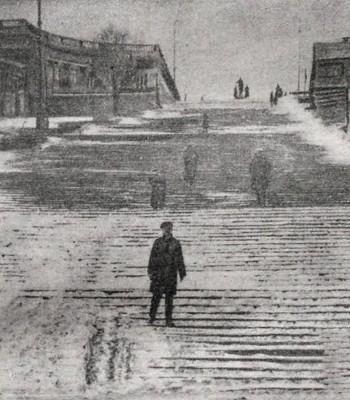 Двухметровые сугробы, замёрзшее море и рекордные снегопады // Зимние аномалии в истории Одессы