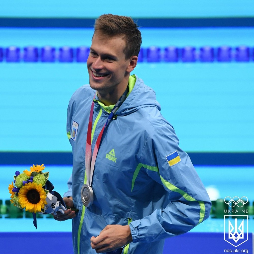 Первое серебро // Украина завоевала второе место по плаванию на Олимпиаде