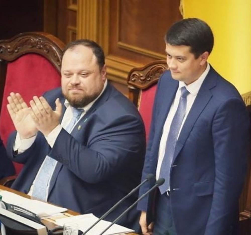 Руслан Стефанчук может сменить Дмитрия Разумкова на посту спикера Верхной Рады