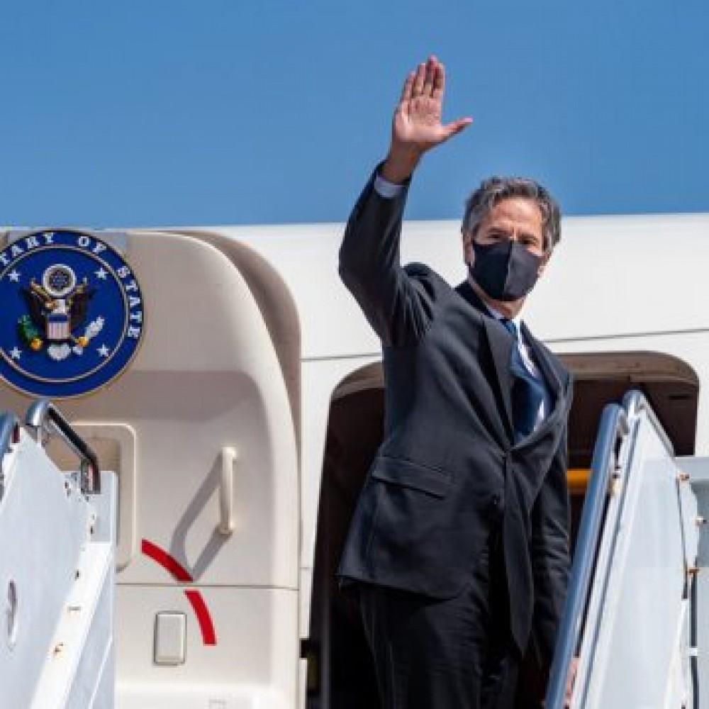 Госсекретарь США Энтони Блинкен в Украине // С кем встречался и что обсуждали