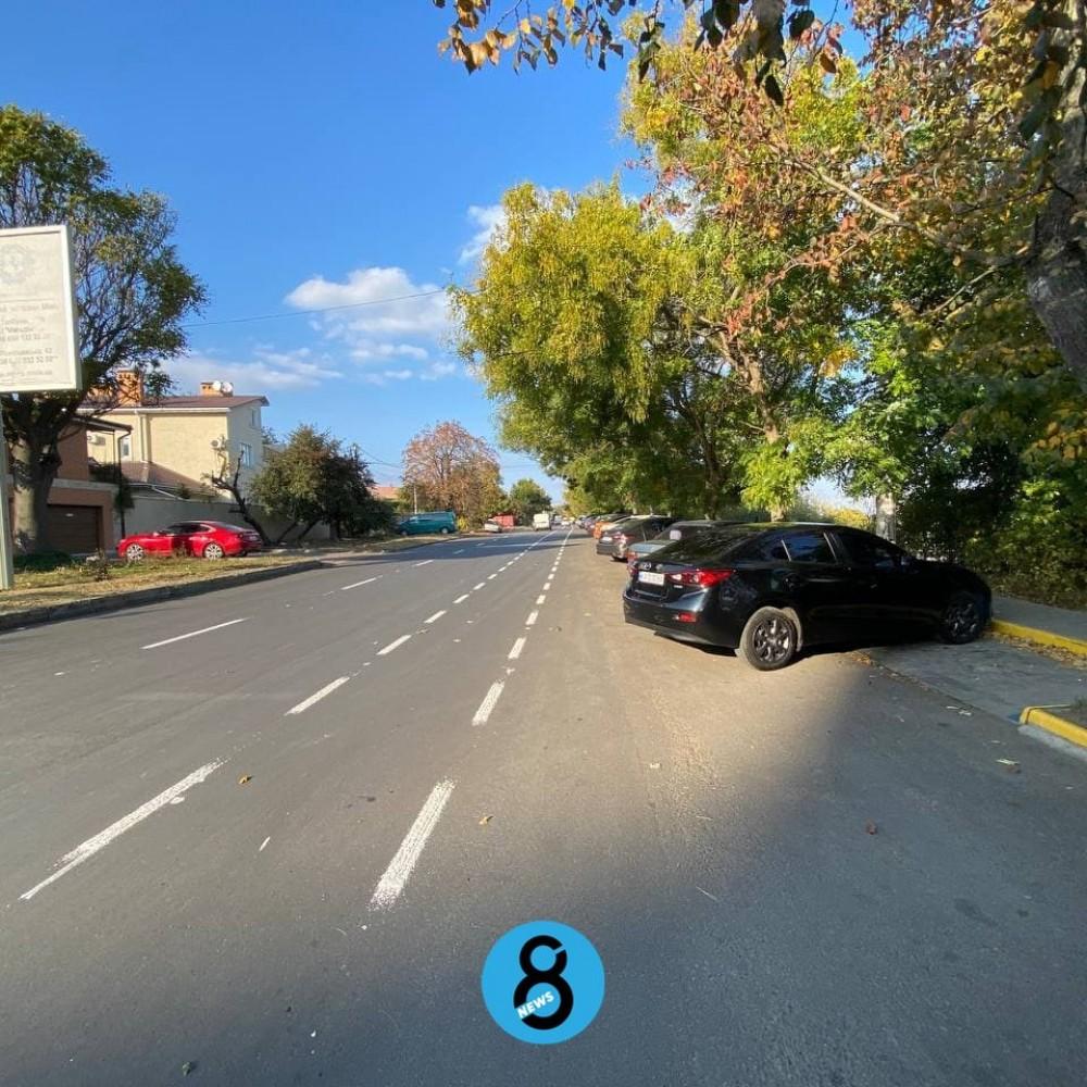 Веломаршрут Центр – Фонтан – Таирова // На Фонтанской дороге начали наносить велосипедную разметку