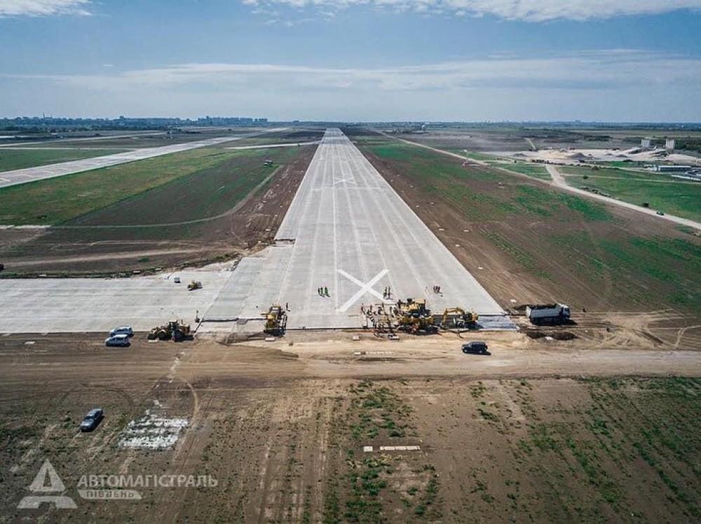 Одесский аэропорт получил новую взлётку