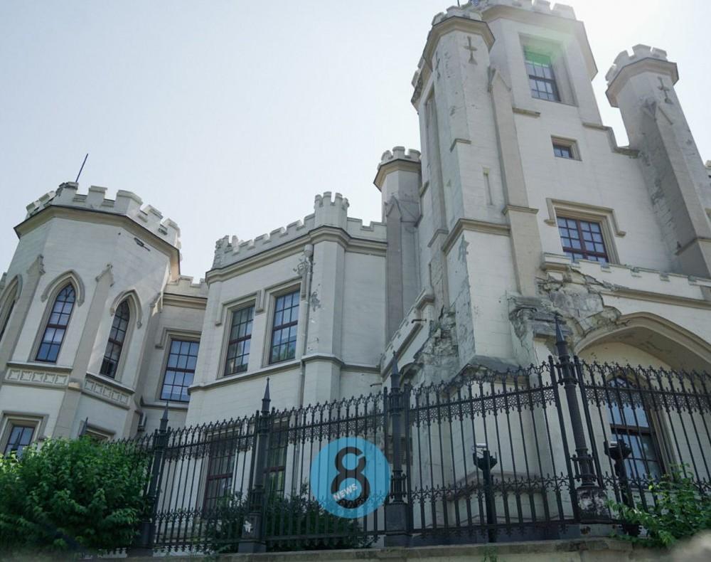 Владелец Шахского дворца задумал его реконструировать // Пока что согласовали только концептуальный проект