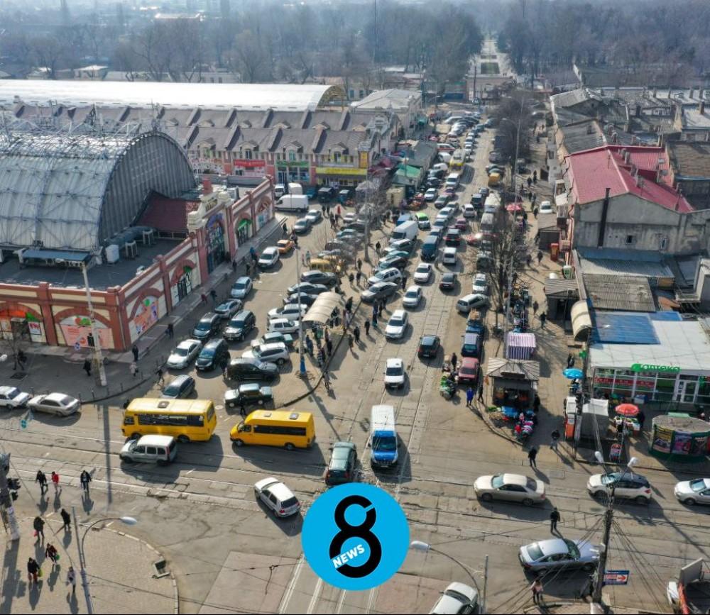 «Ростдорстрой» выиграл тендер на ремонт Преображенской возле Привоза // Что там будут делать