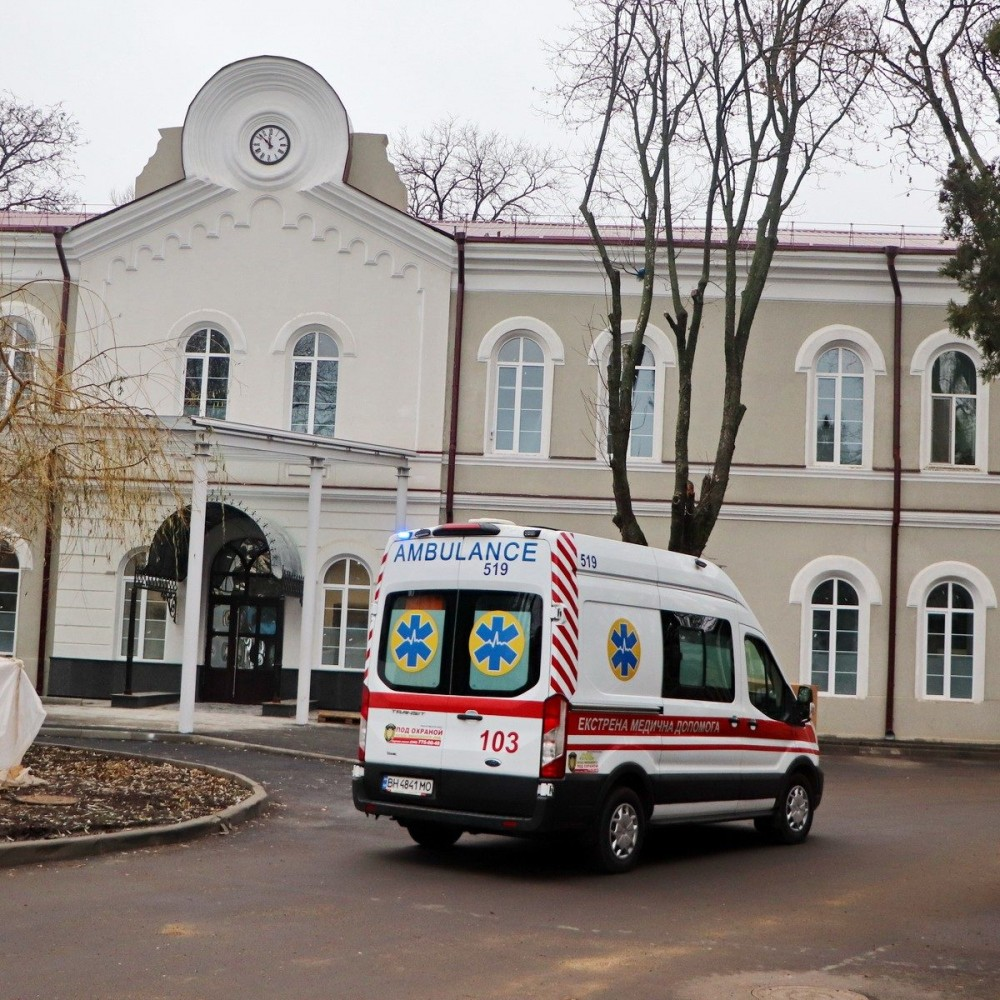 В Еврейской больнице открыли новое отделение для ковидных больных