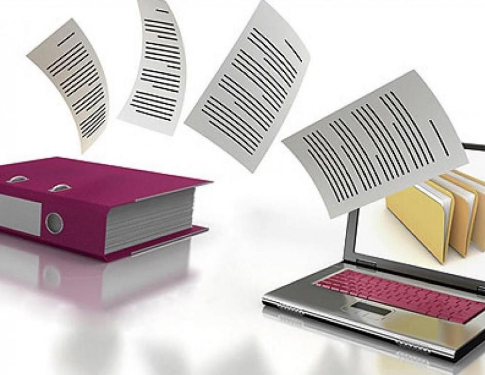 Трудовая книжка и справка о больничном всё  // Оба документа в Украине переводят в цифровой формат