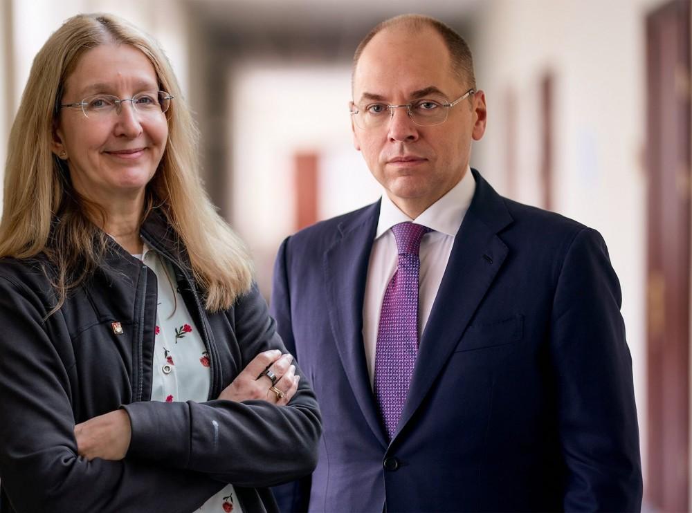 Конфликт между главой МОЗ Степановым и его попередницей Супрун