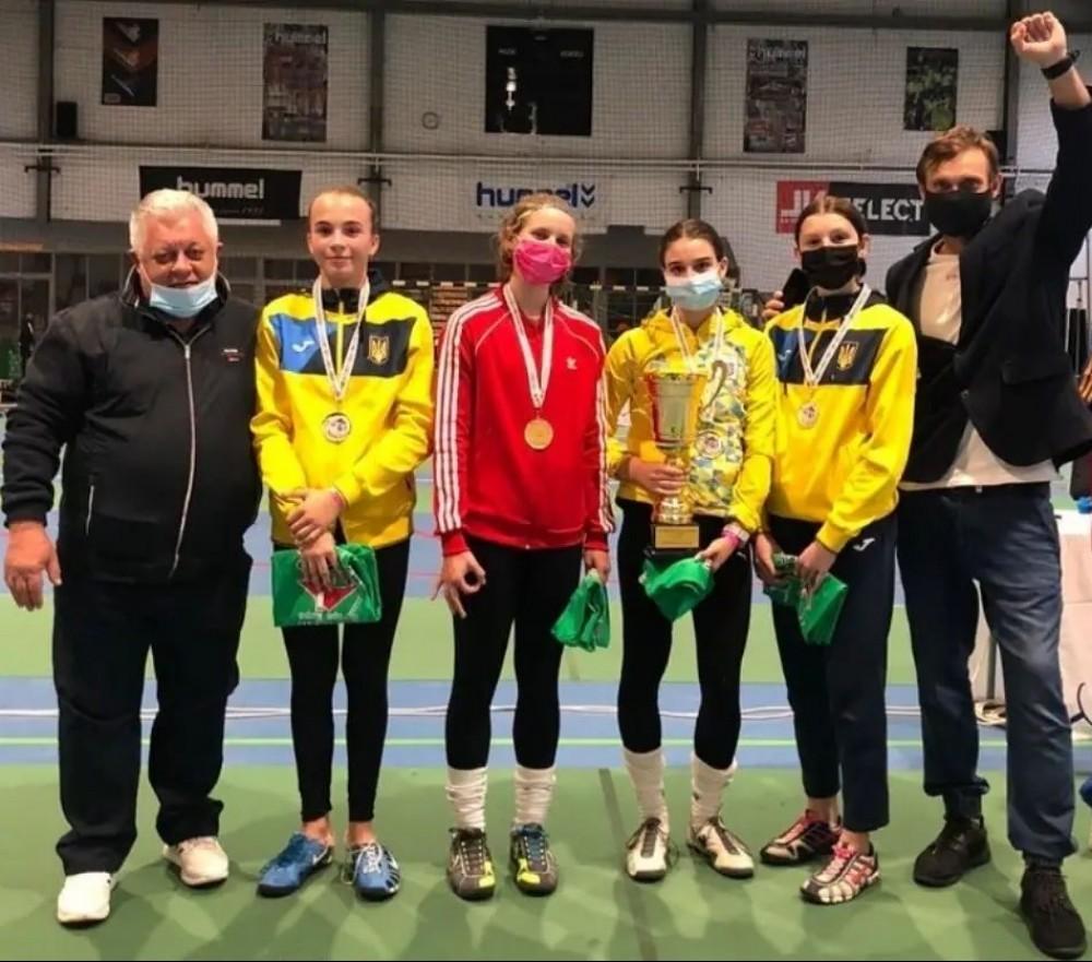 Фехтование // Юная одесситка победила на международном турнире