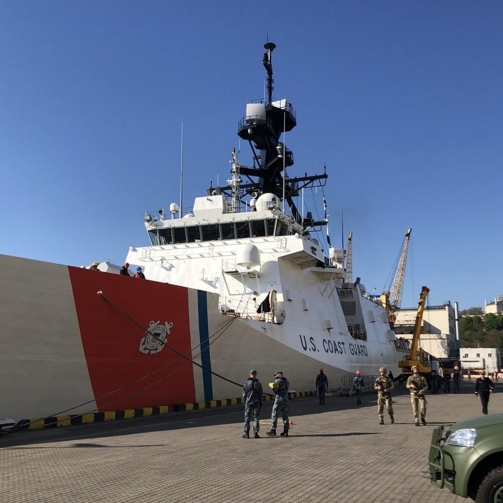 USCGC Hamilton зашел в порт Одессы