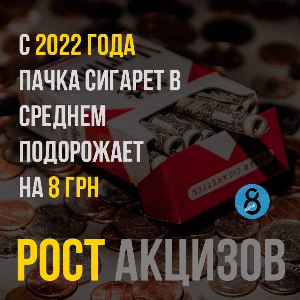 1 января подорожают сигареты и стики для электронных сигарет