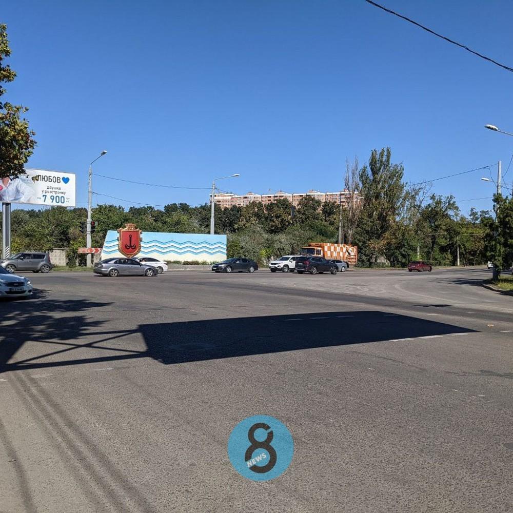 Расширят дорогу и добавят полосу для поворота // Перекресток Овидиопольской дороги и ул. Центральный Аэропорт ждет капремонт
