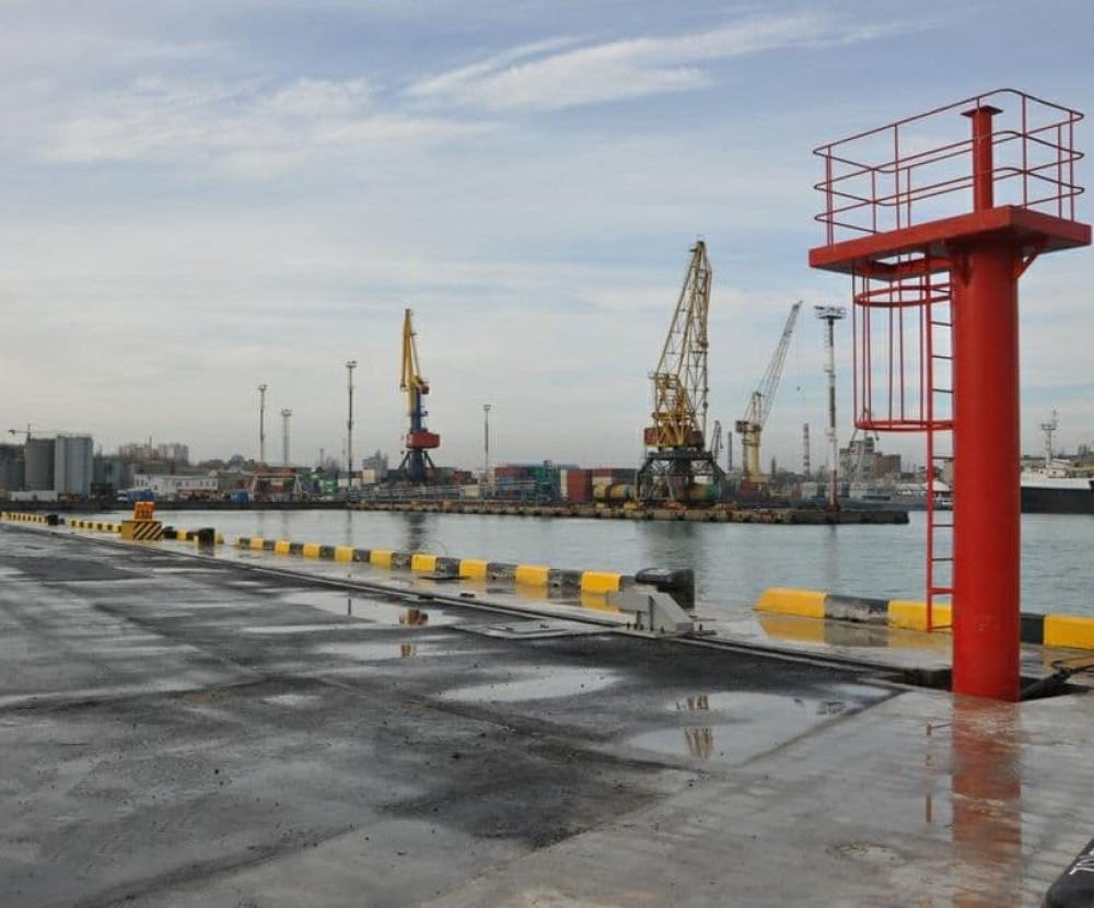 В Одесском порту завершили строительство причала