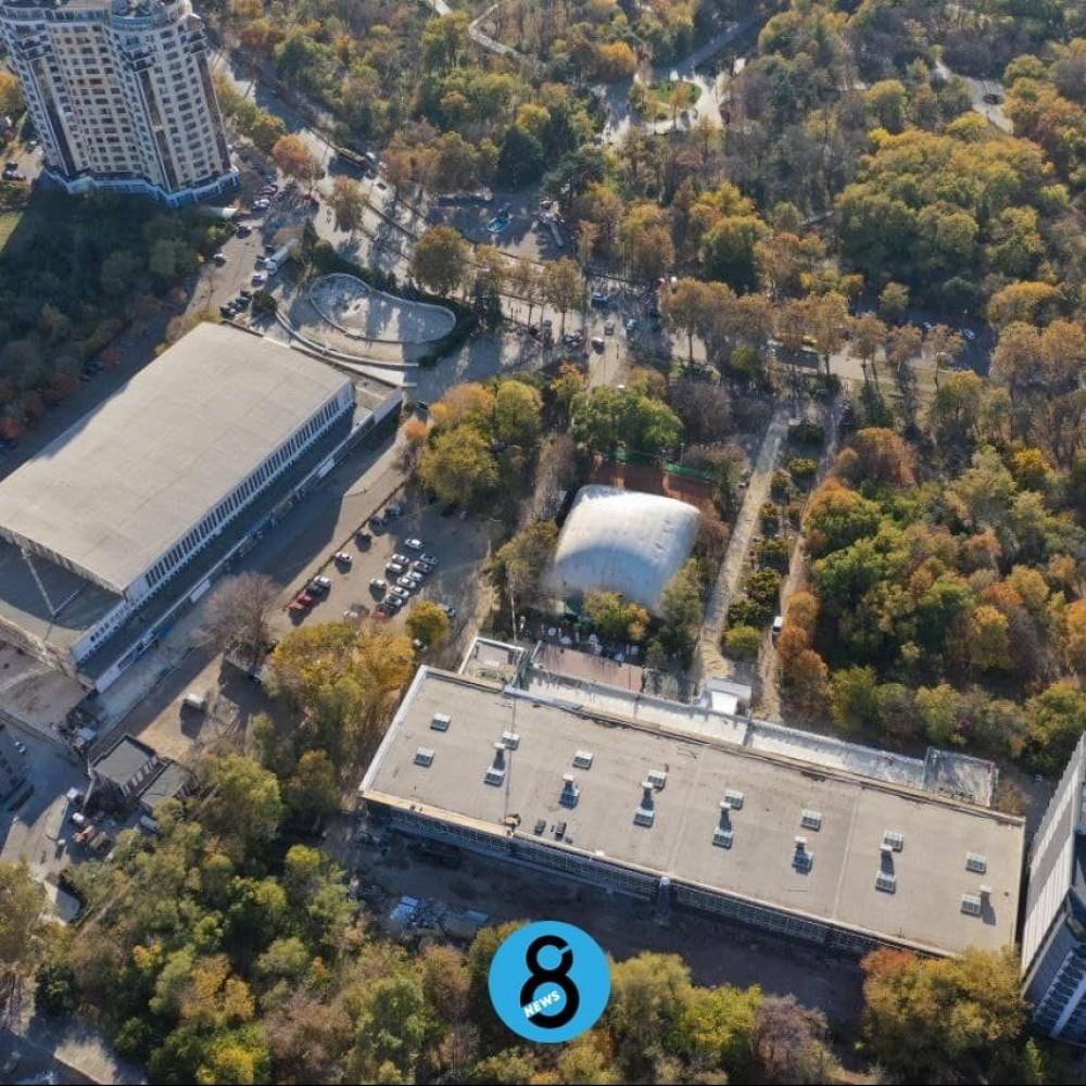 4-этажный паркинг возле Дворца спорта // Застройщик получил разрешение на строительство