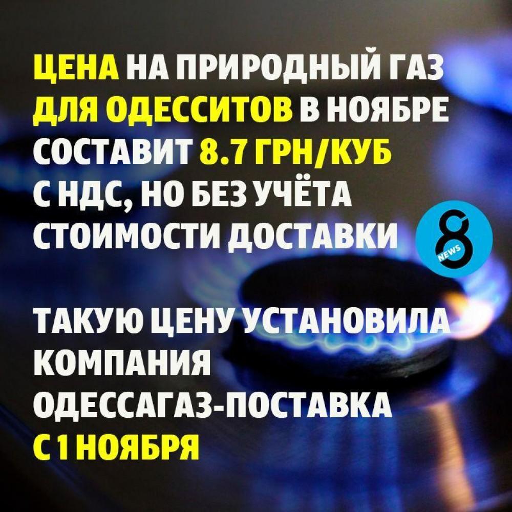 Нафтогаз назвал новую цену на газ