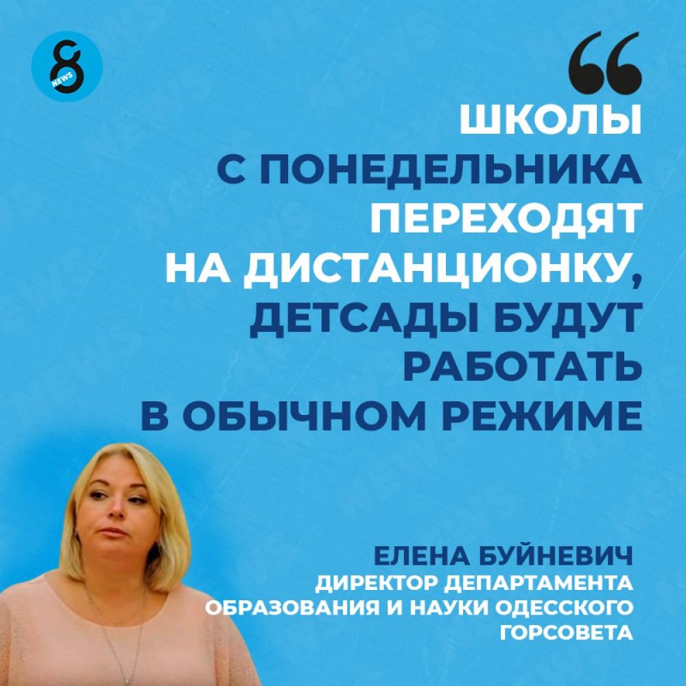 В связи с карантинными ограничениями одесских школьников перевели на дистанционное обучение