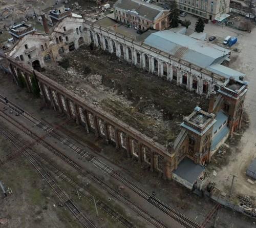Что происходит с большим паровозным цехом на «Краяне» // История и перспективы памятника архитектуры