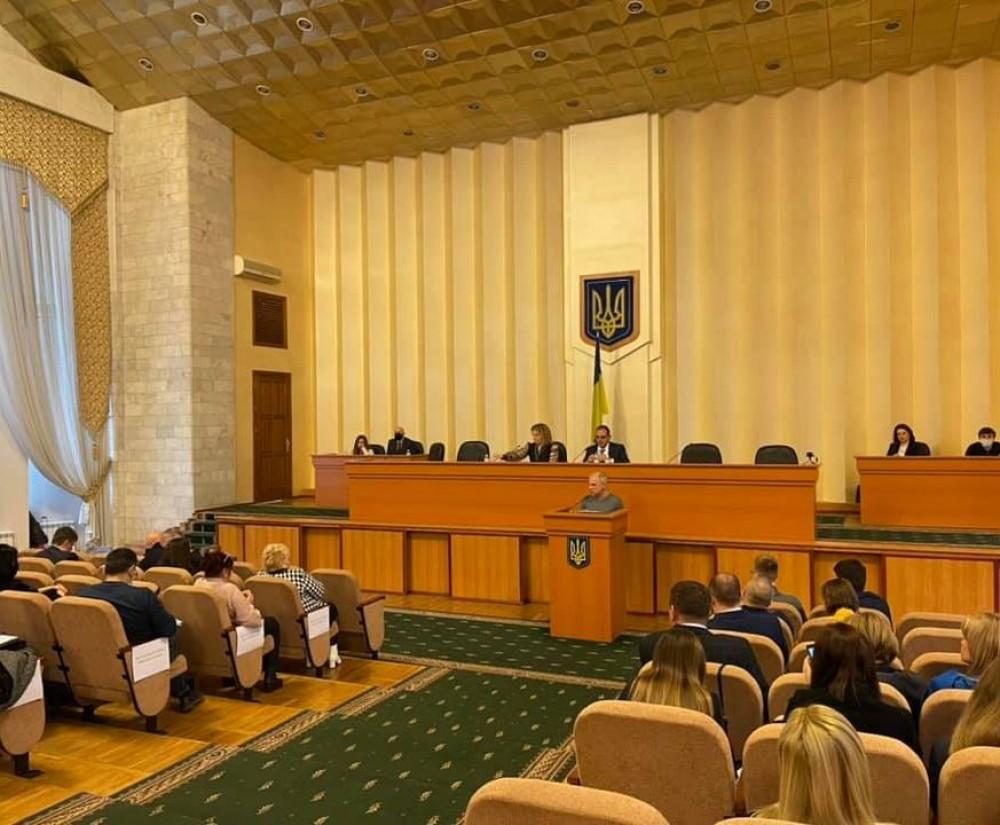 Сессия Одесского райсовета // Громадам передали имущество