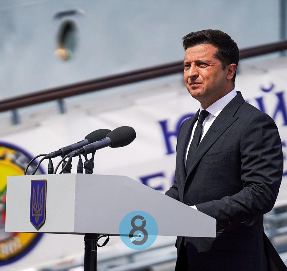 Владимир Зеленский прибыл в Одессу