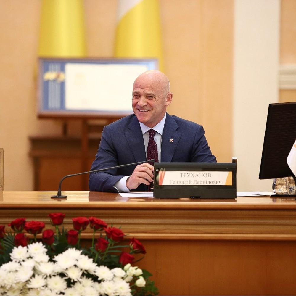 Борьба с ковидом, строительство, ремонты и Саакашвили // Мэр Одессы отчитался за год работы
