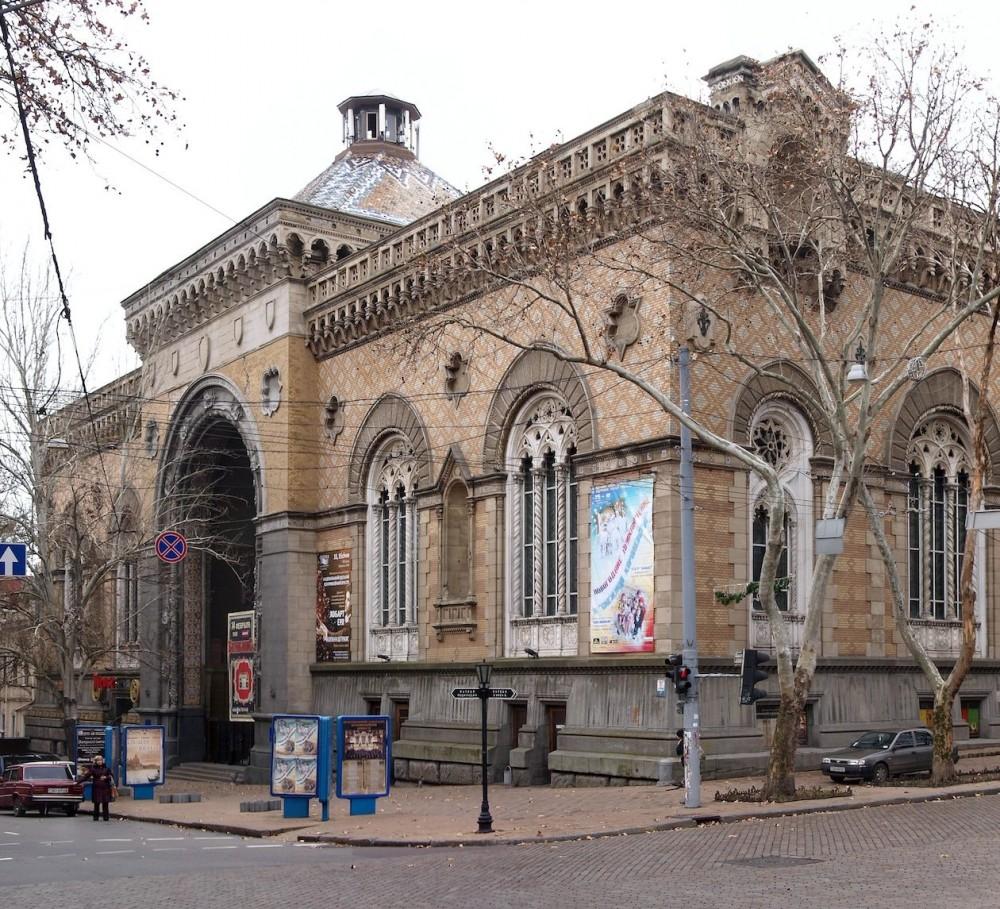 Проект реконструкции филармонии разработает фирма, которая занималась Потемкинской лестницей и Домом Руссова