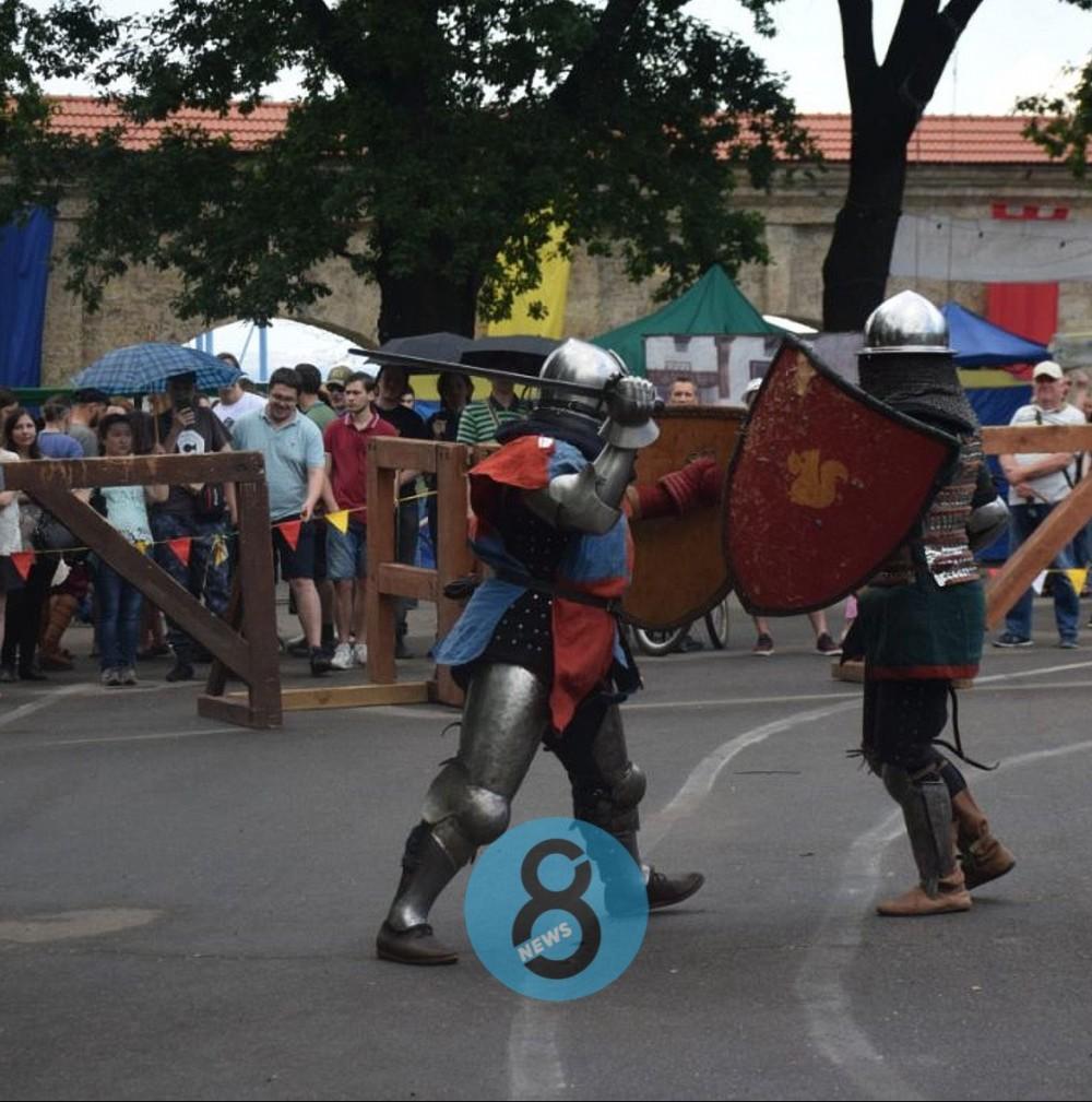 Средневековая культура // В Одессе проходит фестиваль «Пороховая башня»