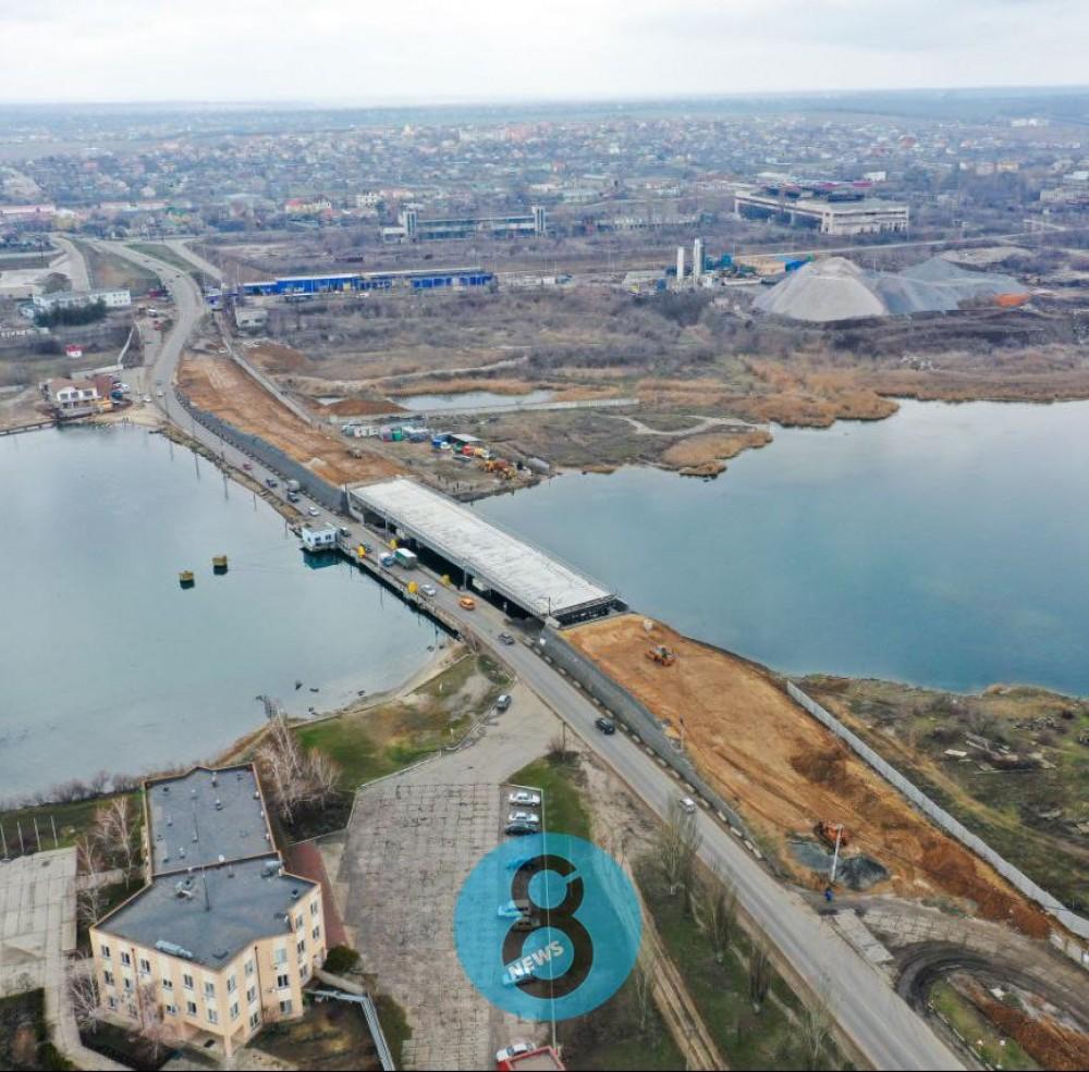 Мост через Сухой лиман обещают достроить в этом году // Стоимость работ снова увеличилась