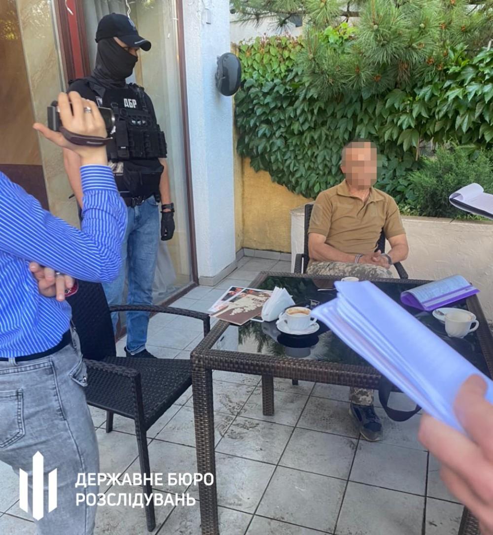 В Одессе на взятке попался руководитель одного из структурных подразделений ВМС