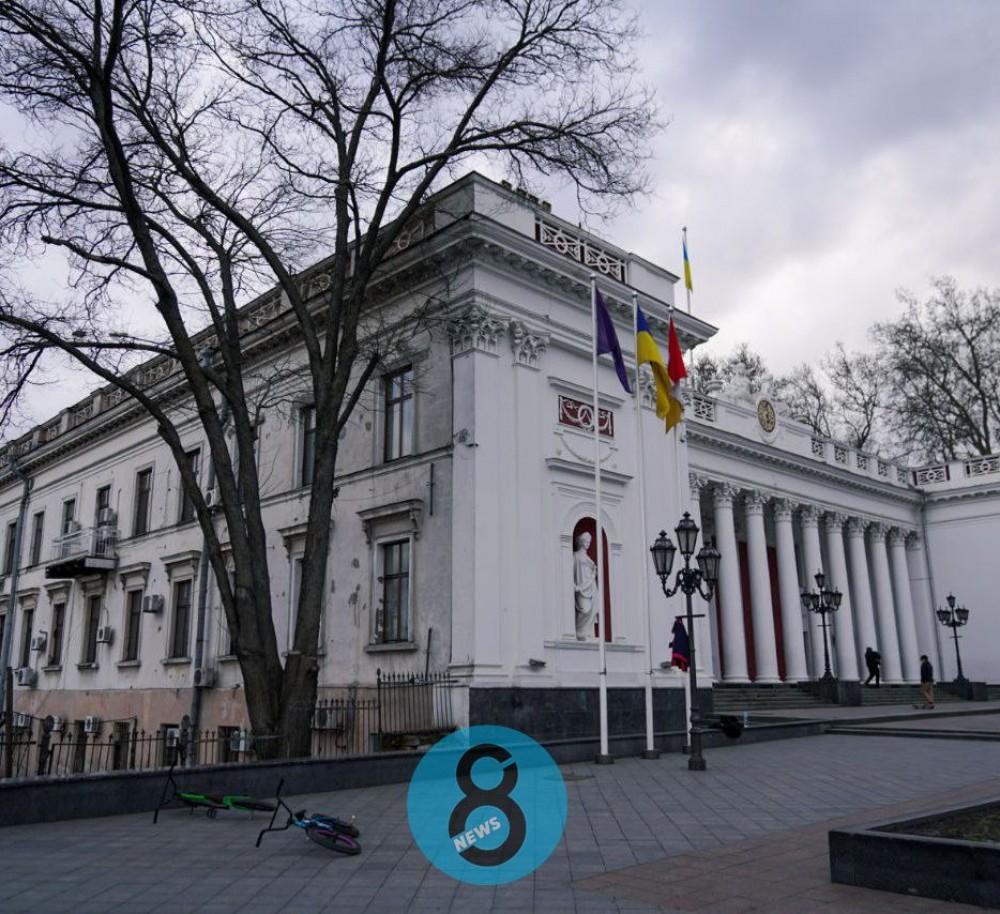 Одесскую мэрию обвинили в дискриминации из-за условий тендера // Реконструкция здания горсовета затягивается