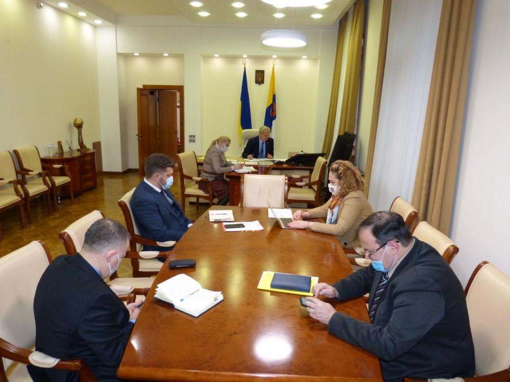 В Облгосе хотят открыть ковидарий в клинике Одесского медуниверситета