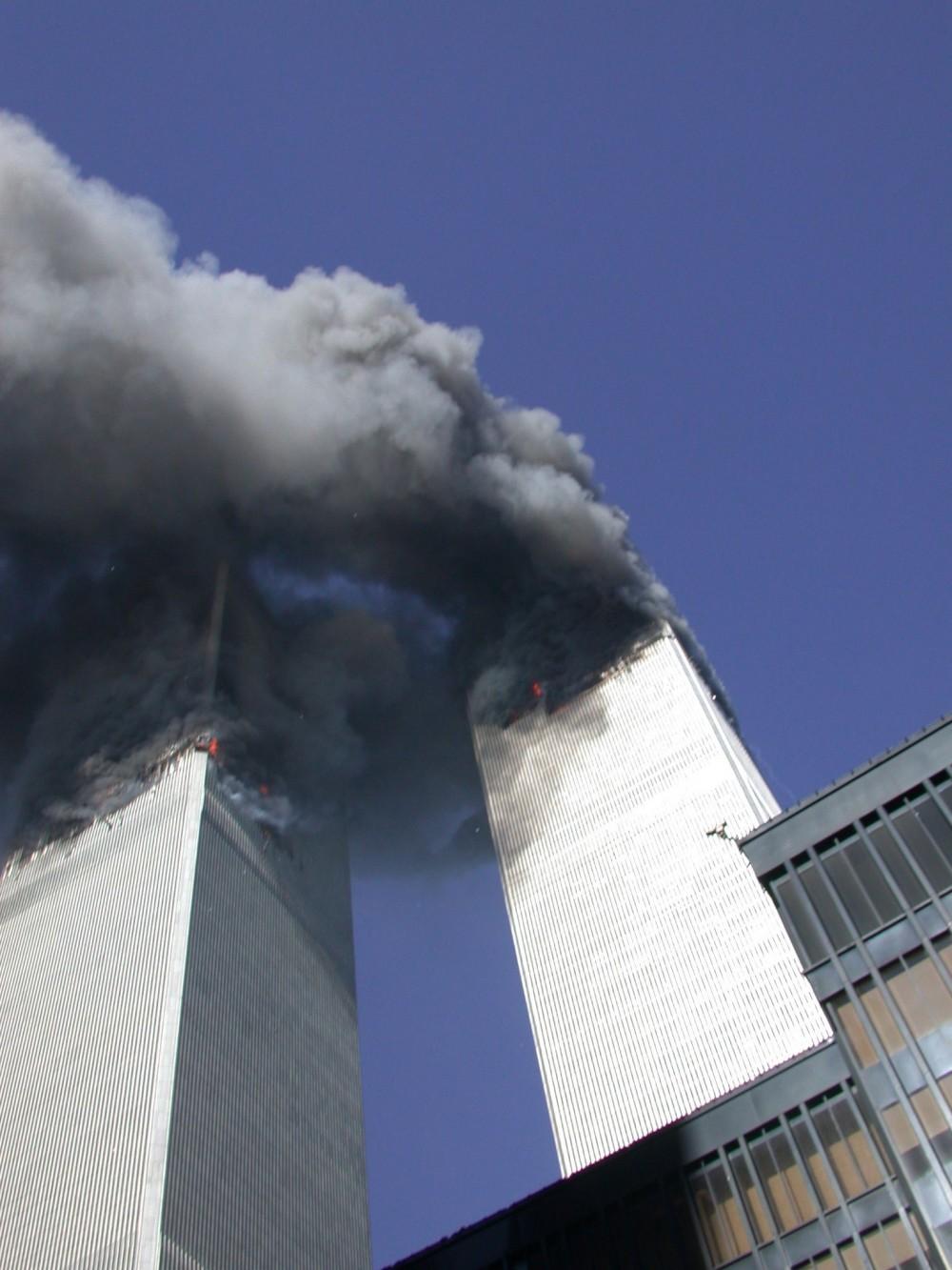 Теракт 11 сентября // Секретная служба США выложила ранее не публиковавшиеся фото
