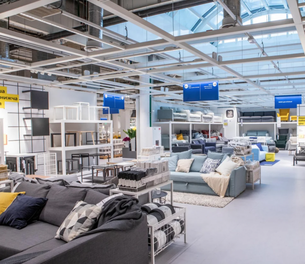 В Киеве открылся первый в Украине офлайн-магазин IKEA