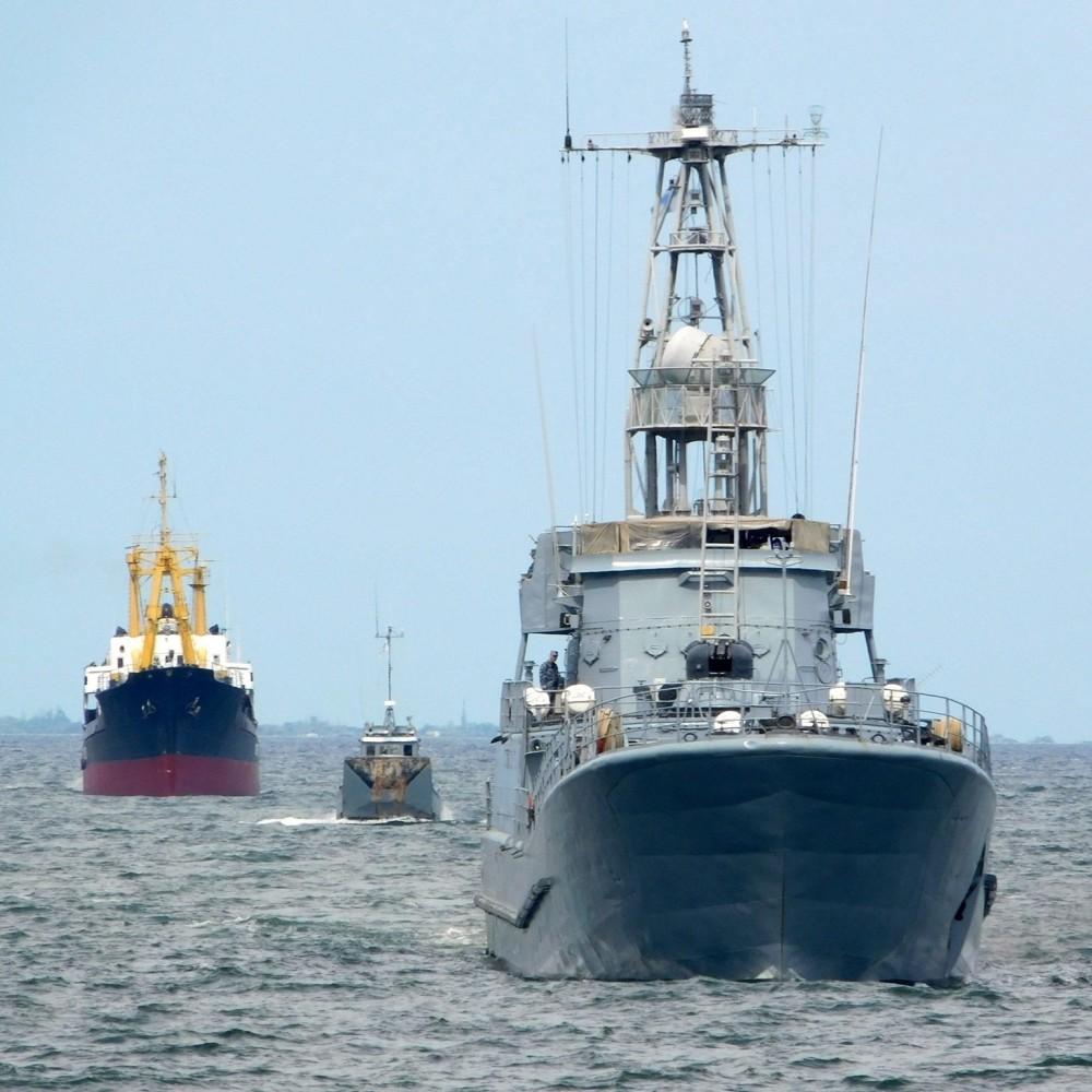 Масштабные учения провели Военно-морские силы Украины в Черном море