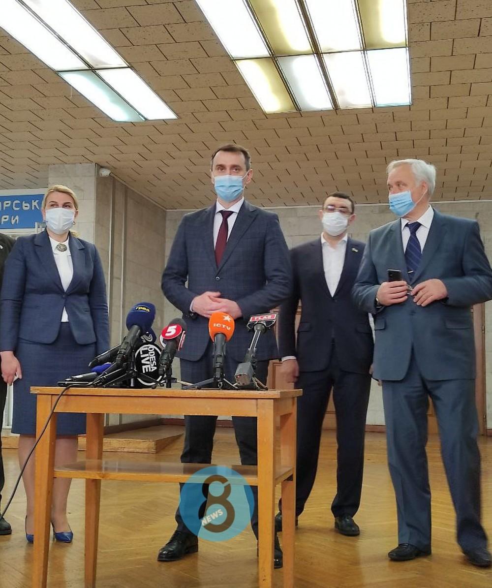 Все молодцы // Главный санврач Украины остался доволен ходом  вакцинации в Одесской области