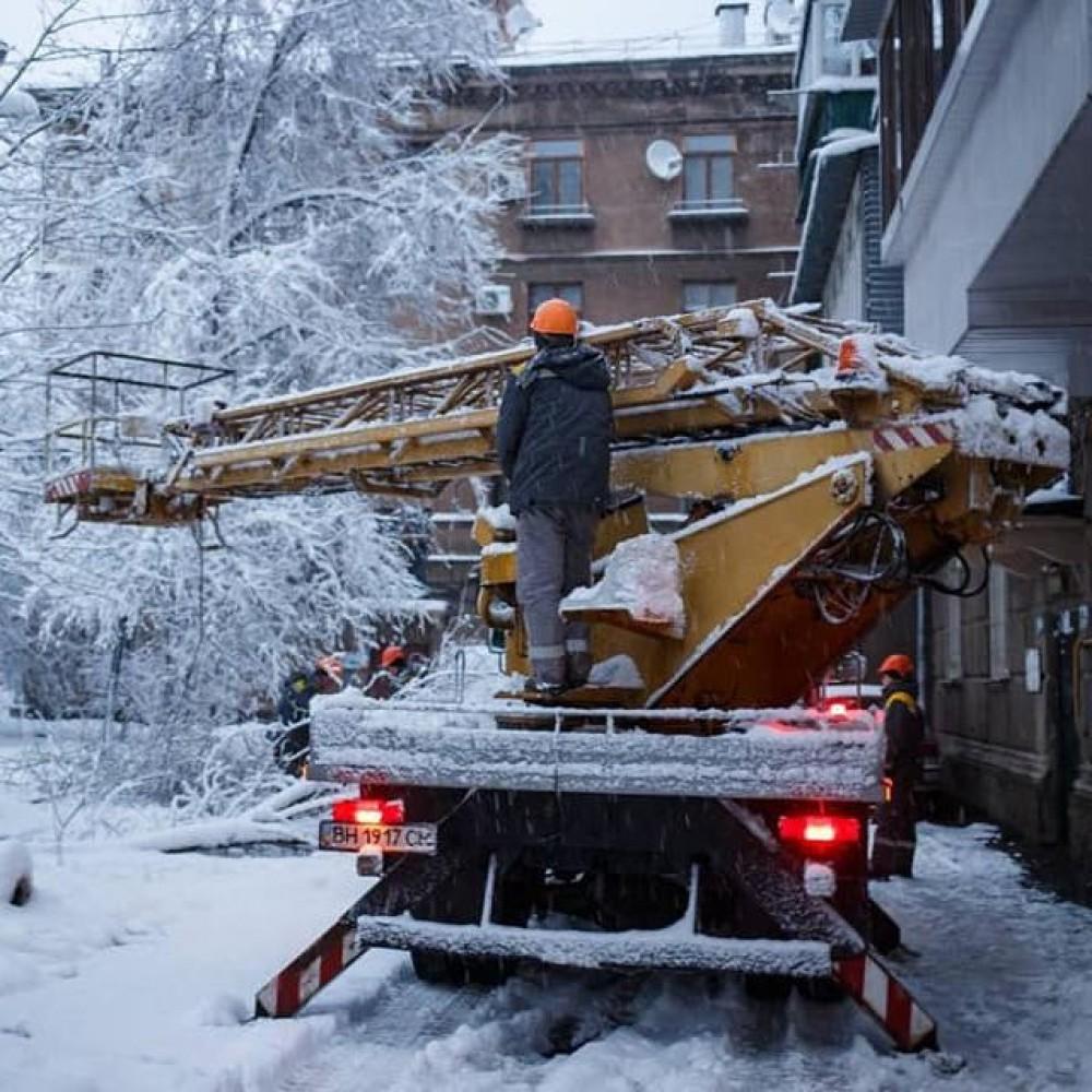 Надвигается новый циклон // В Одесской области устраняют последствия непогоды