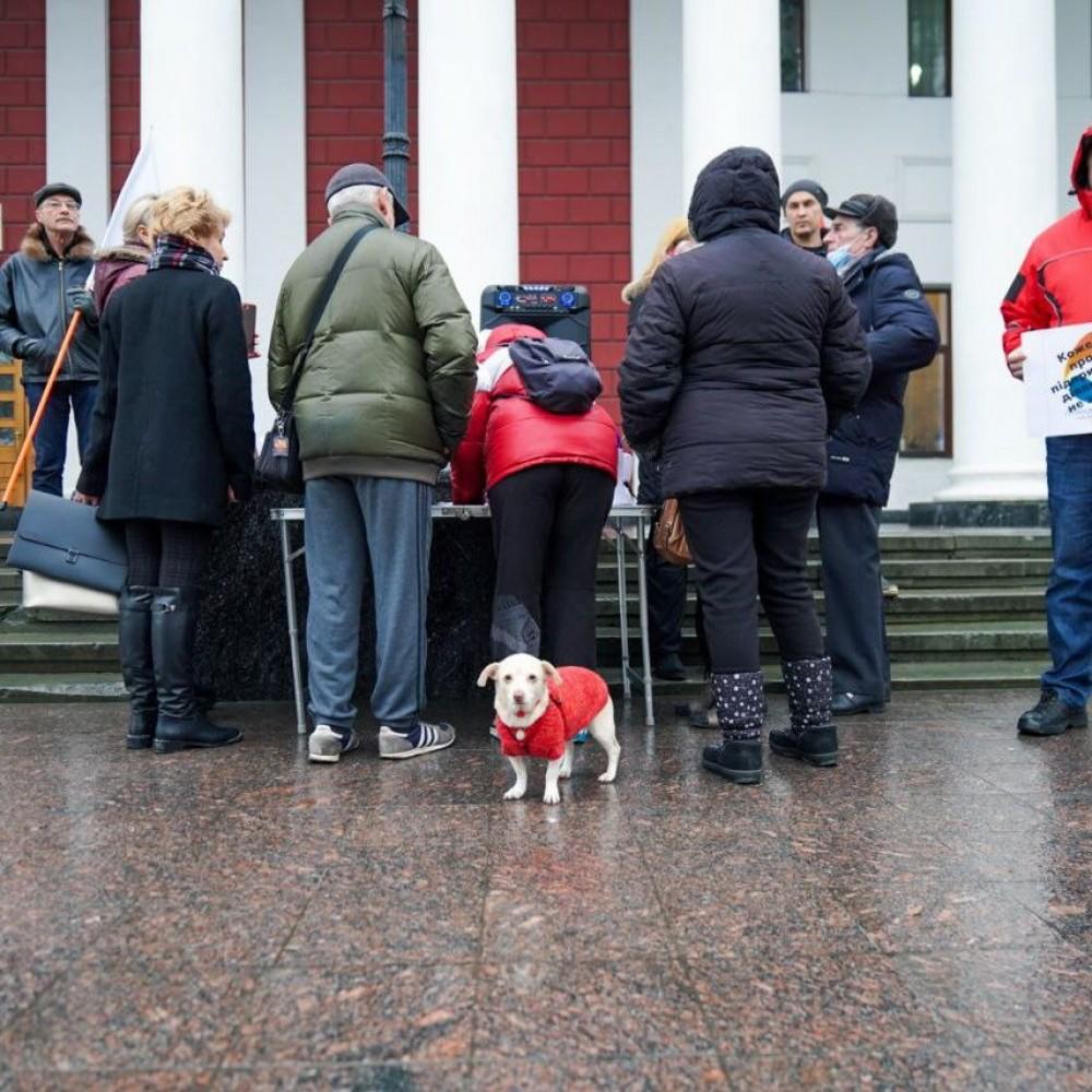 Митинги против тарифов // В Киеве прошла масштабная акция // В Одессе протестовали «мутные» активисты