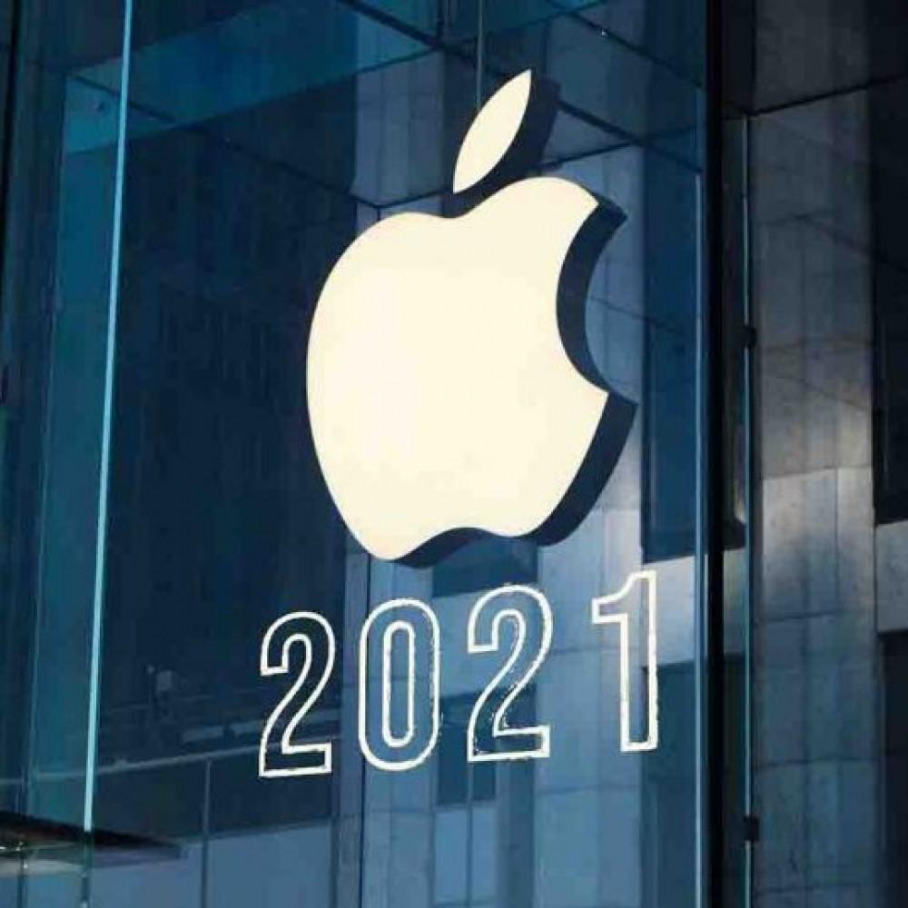 Новинки от Apple // Фиолетовый iPhone, брелок и радужный моноблок