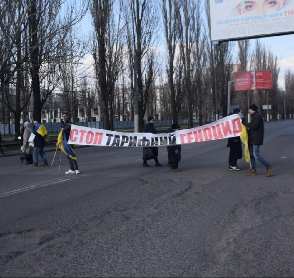 Странное перекрытие дороги на Поселке Котовского из-за дорогой  коммуналки