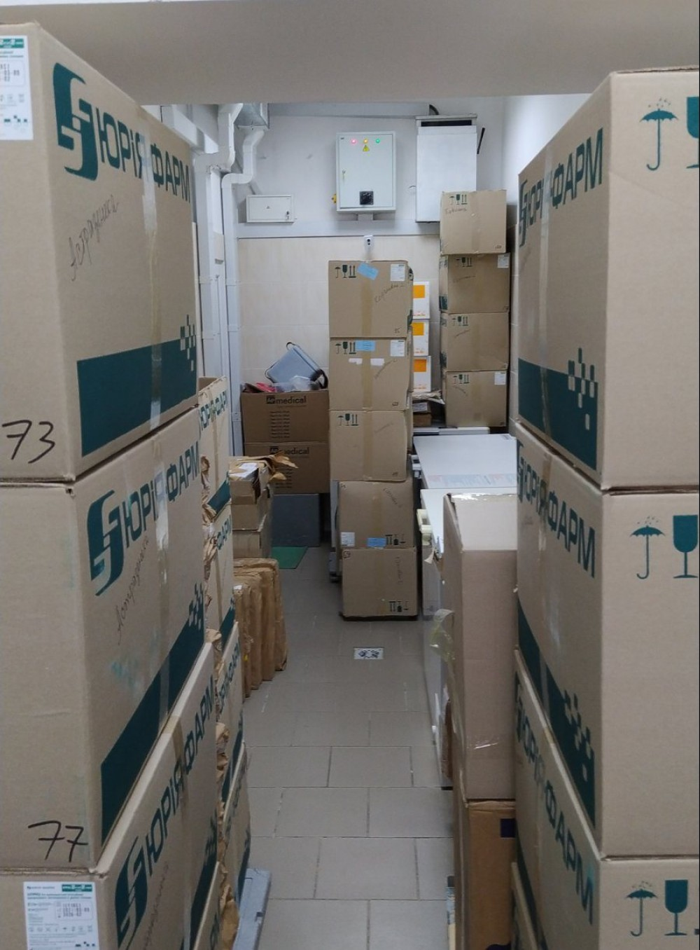В Одесскую область доставили 31 700 доз вакцины AstraZeneca