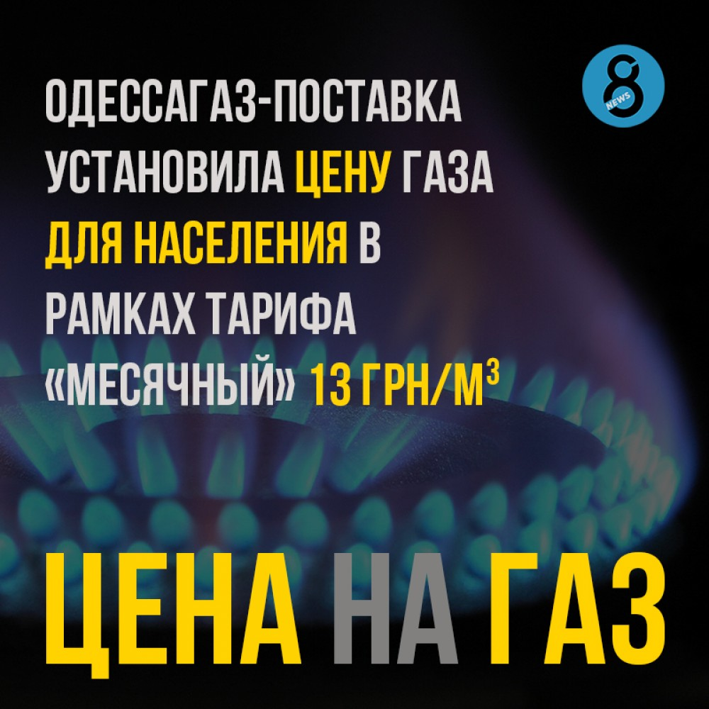 «Одессагаз-Поставка» опубликовала цену на газ в июле