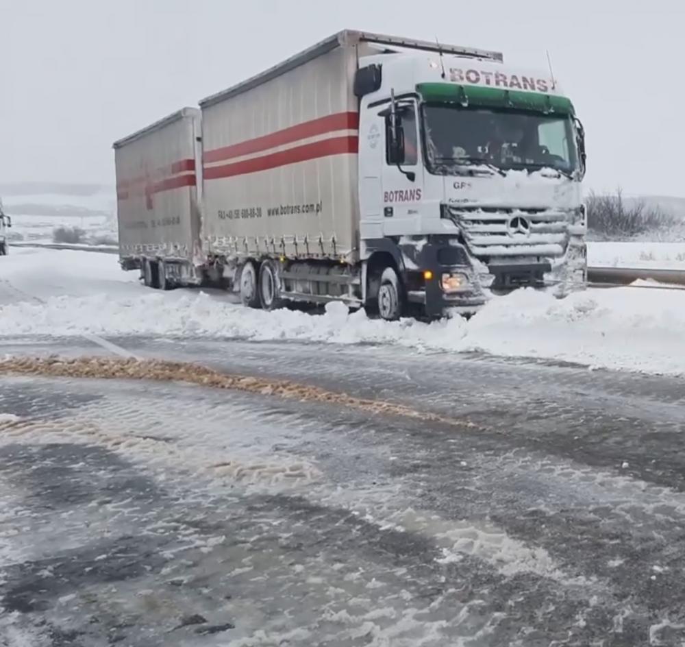 В Одесской области из-за непогоды перекрыли трассы