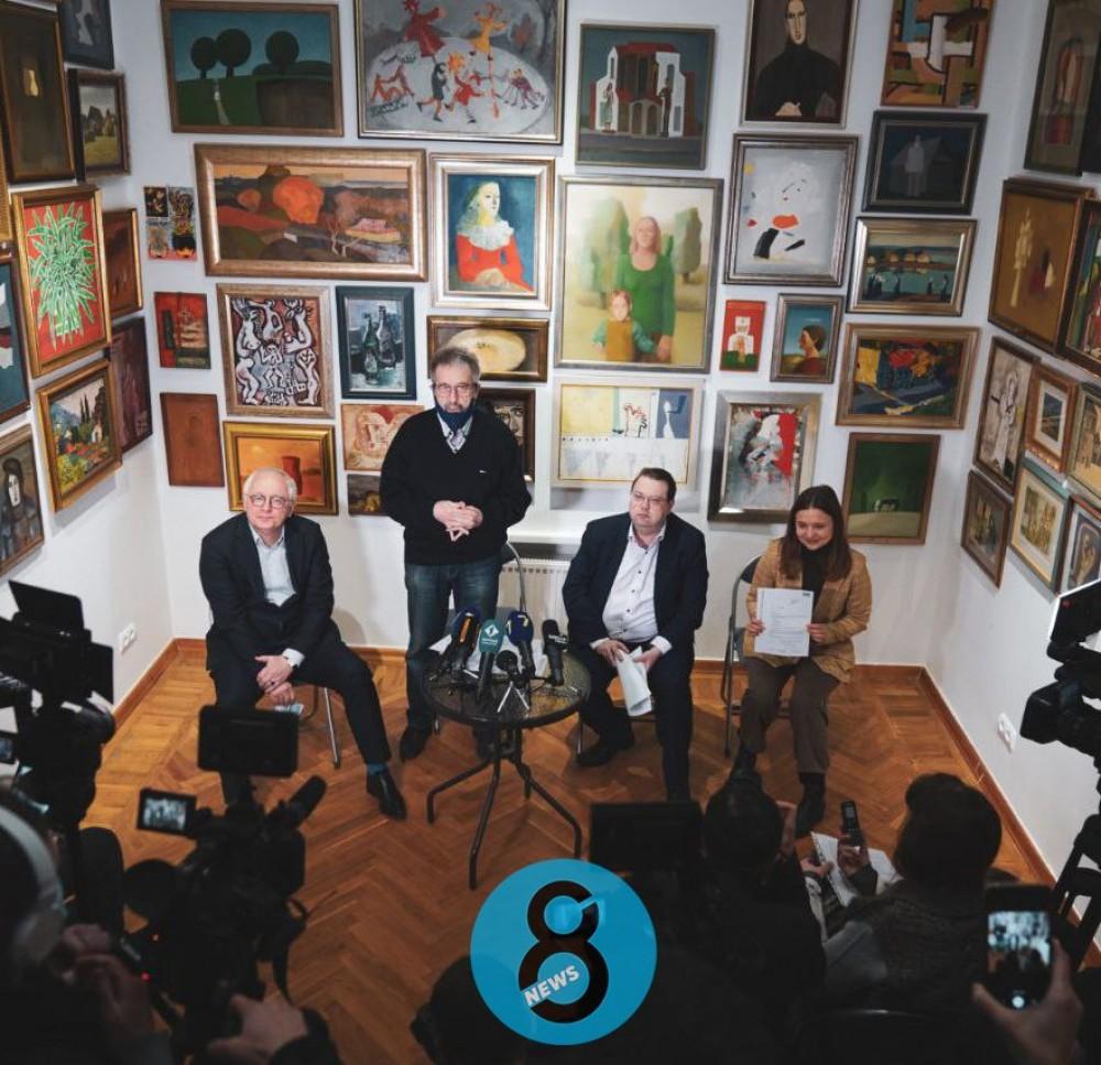 Прорыв одесского концептуализма в Европу // Работы украинских художников украсят галерею парижского музея
