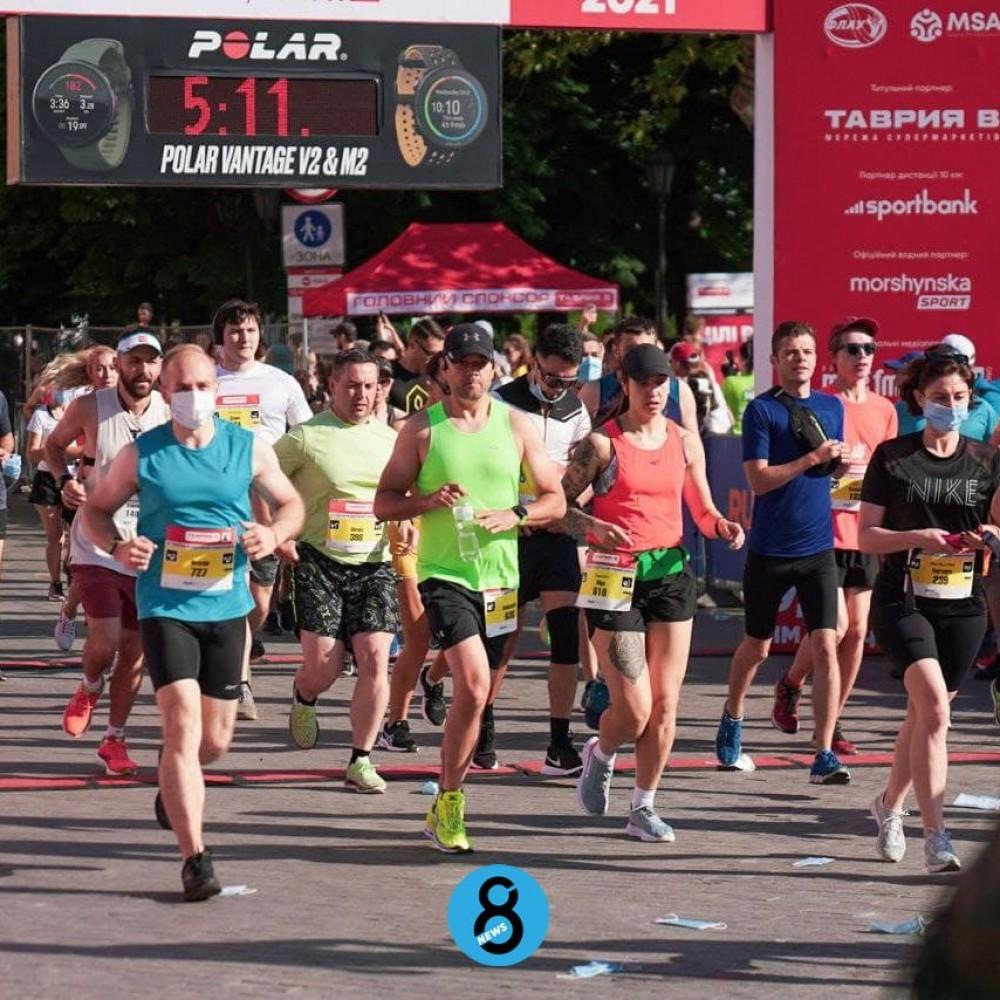 В Одессе прошел масштабный Tavria V Odesa Half Marathon 2021