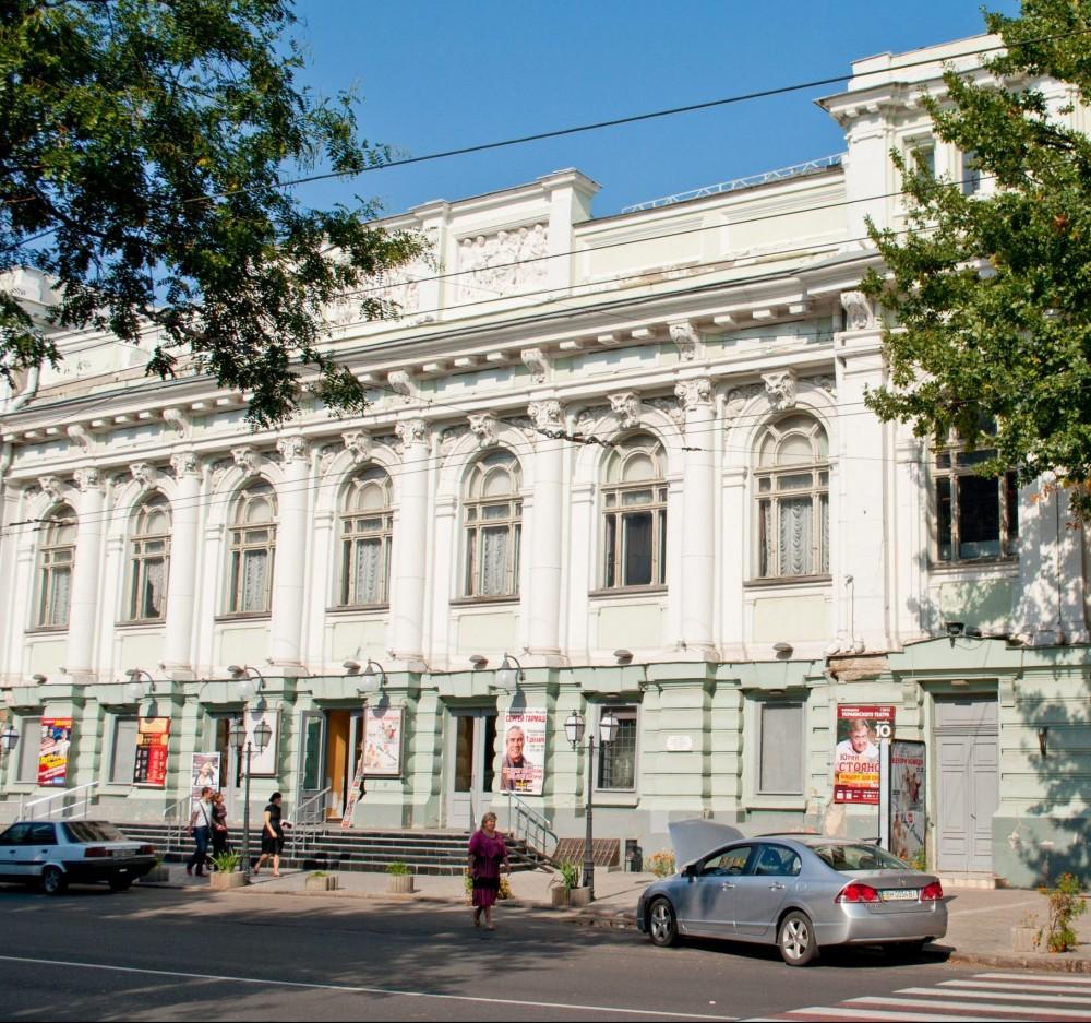 Помещения Украинского театра отремонтируют за 17 млн грн // Работами займется одесская фирма-ноунейм