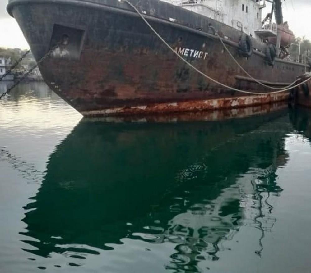 Информация про затонувшее в Черноморске судно оказалась фейком