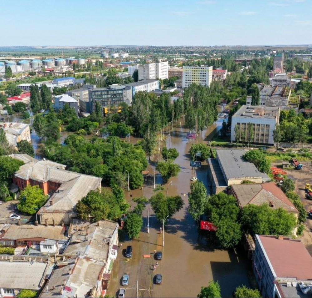 Последствия непогоды // Ситуация на дорогах и с транспортом в Одессе