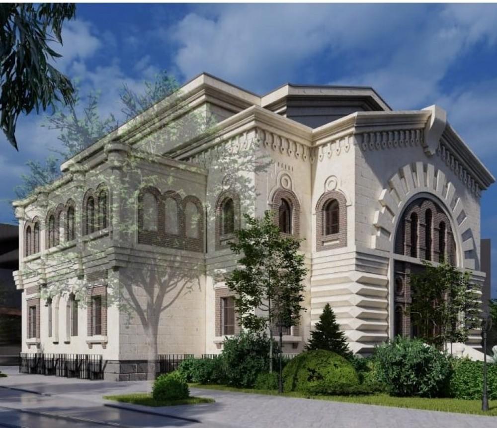 В обладминистрации рассмотрят новый проект по восстановлению Масонского дома // Визуализация