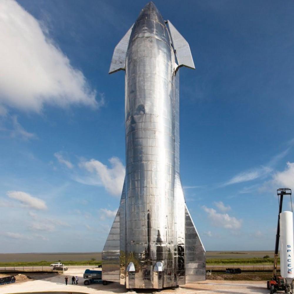 Не взорвалась // SpaceX успешно испытала ракету Starship