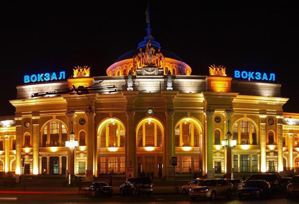 Одесский железнодорожный вокзал вошёл в ТОП-5 по пассажиропотоку