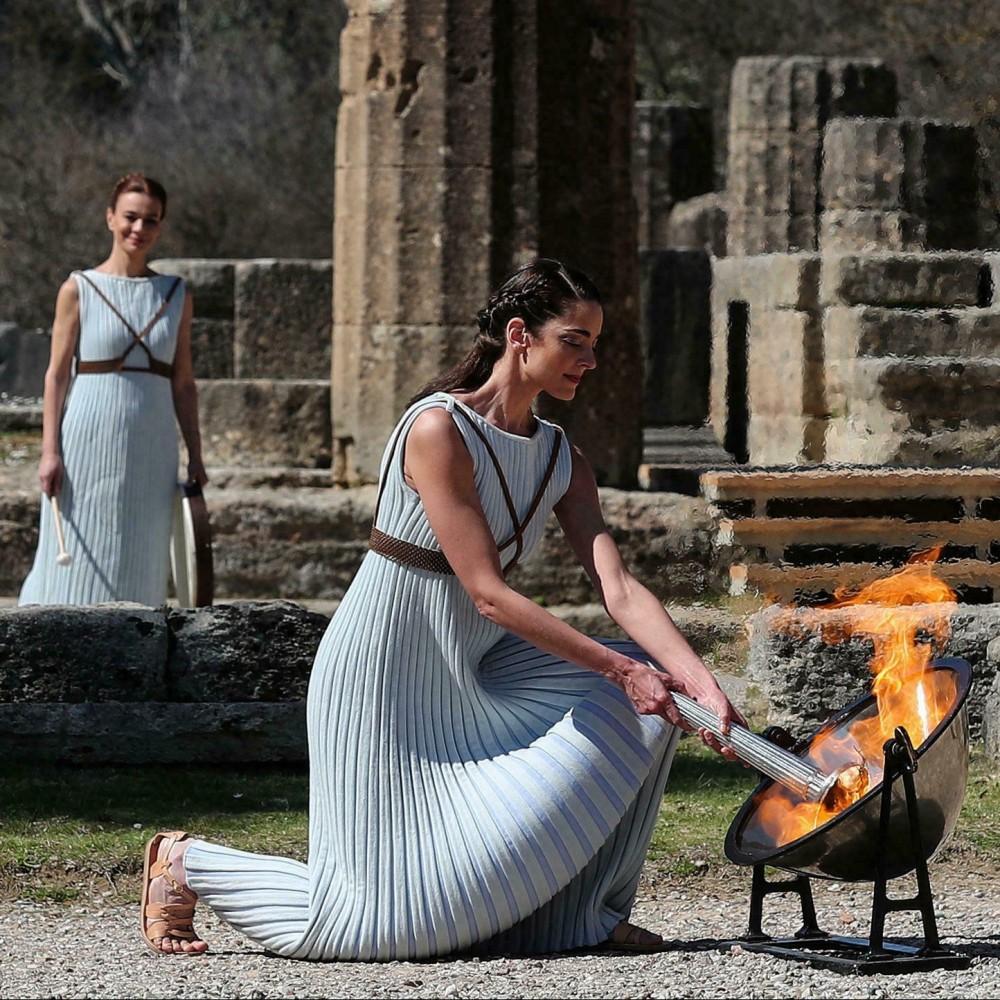Олимпиада-2022 // В Греции зажгли огонь зимних Игр, которые пройдут в Пекине