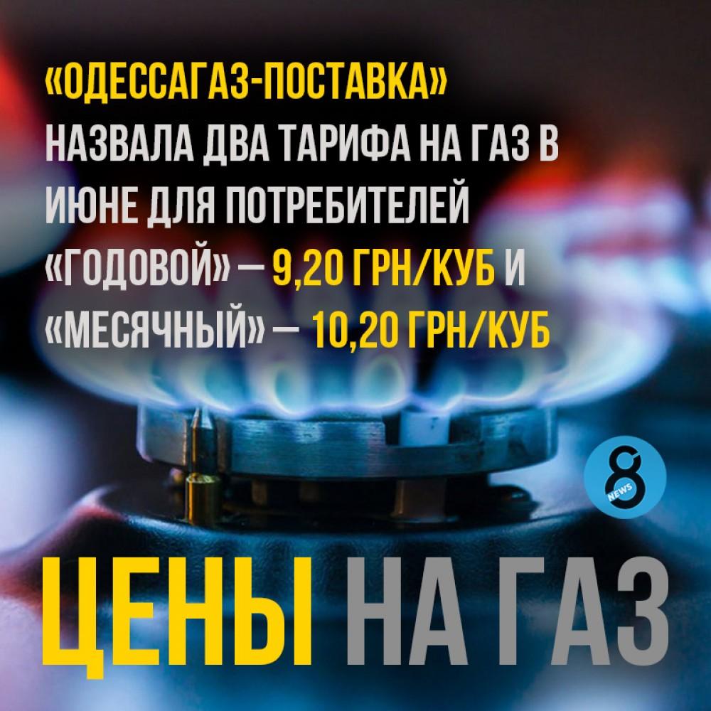 Сколько «Одессагаз-поставка» хочет за газ в июне